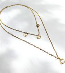 Mjedena ogrlica DESSIRÉE