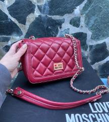 Moschino crvena torbica