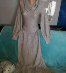 Sniz.120kn.vintage pletena haljina vel.s