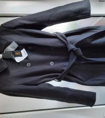 Kaput, crni,novi,veličina XL