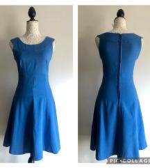 Vintage plava haljina