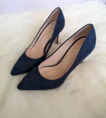 Plave salonke / cipele na petu
