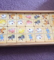 domino slagalica sa životinjama