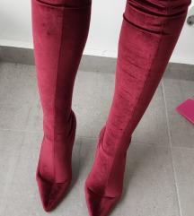 Socks cizme bordo