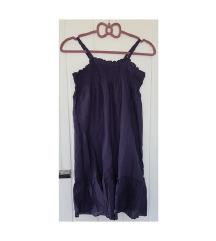 Benetton tamnoplava haljinica