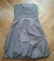 Zara siva haljina S