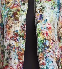 Zara bomber cvjetna jakna S