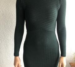 Tamnozelena haljina; veličina M