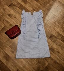 H&M prugasta haljina / slanje uključeno