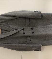 Stradivarius sivi kaput