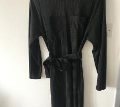 Zara basic prugasta haljina