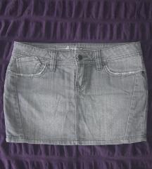 DKNY jeans mini suknjica