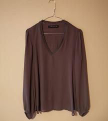 Jednobojna bluza iz Zare