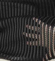 Crna suknja sa tilom 36