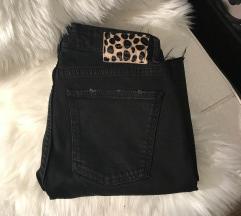 Novo zara crni jeans
