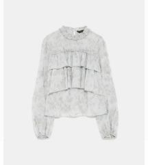 % Nova Zara bluza s volanima 38