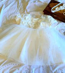 Haljinica za krštenje s cipelicama