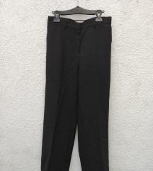 RODEBJER crne hlače širokih nogavica
