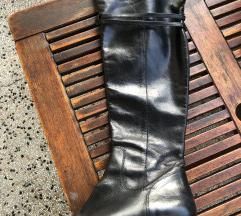Kožne crne čizme! ❌ SAMO DANAS 75 kn ❌