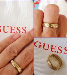 GUESS prsten s cirkonima