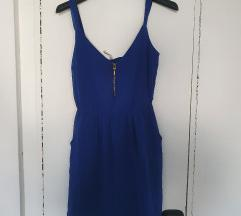 Haljina plava stradivarius