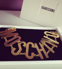 Moschino ogrlica
