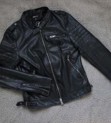 Kožna biker jakna, S, pt. uključena
