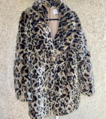Bershka krzneni leopard kaput. Pr u cijeni