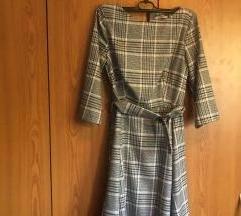 Orsay karirana haljina s pojasom