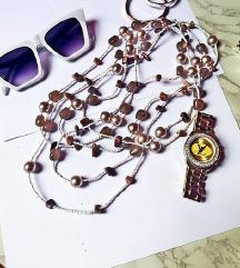 ogrlica višeslojna