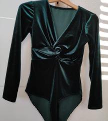 Novi smaragdni velvet body