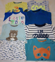 Lot majica za dječake