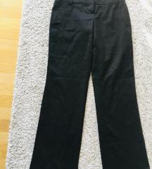 Veromoda crne široke hlače na crtu vel 34