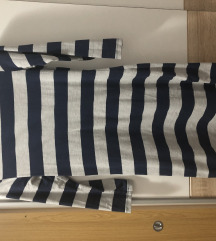 Tunika na plavo sive pruge