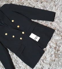 Zara novi crni sako S