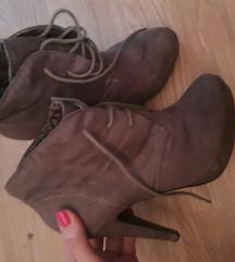 Smeđe sive cipele