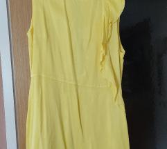 Mango svilena haljina otvorenih leđa