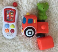 Set za bebe auto i mobitel