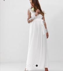 Bijela Club L London haljina/ vjenčanica