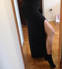 Maxi crna suknja