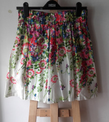 Nikad nošena floral print suknja