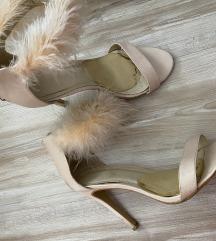 Sandale s perjem 40