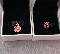Novi Pandora rose gold privjesak