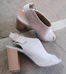 Cipele na debelu petu 39