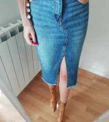 Nove Zara lace up kožne gležnjače