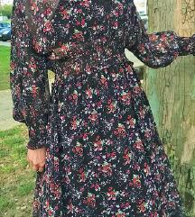 Zara duga asimetrična haljina