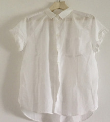 bijela košuljica s kratkim rukavima