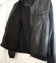 Prava koža  Zara jakna M