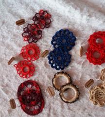 Hand made naušnice