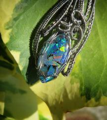 Lightning ridge mozaik opal